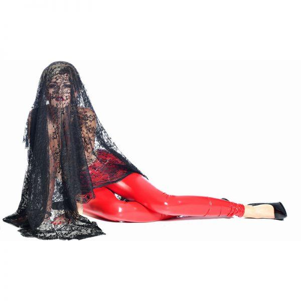 Vera Lak Legging Rood | Patrice Catanzaro | Desireshop.nl