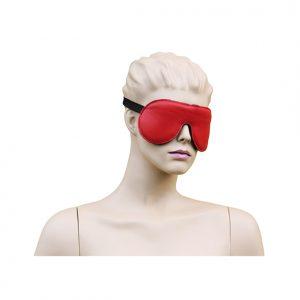 Eyemask Leather - Red