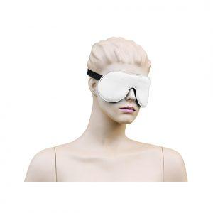 Eyemask Leather - White