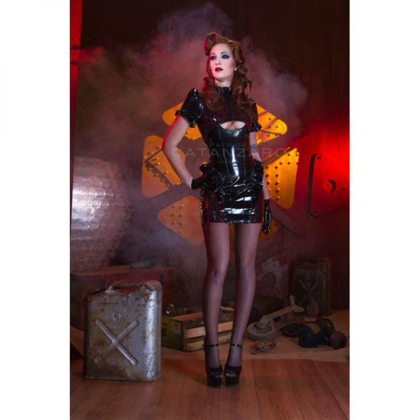Lak jurk ALICIA van Patrice Catanzaro