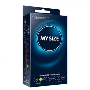 My Size Natural Latex Condom 49 Width 10 pcs
