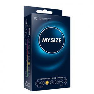 My Size Natural Latex Condom 53 Width 10 pcs