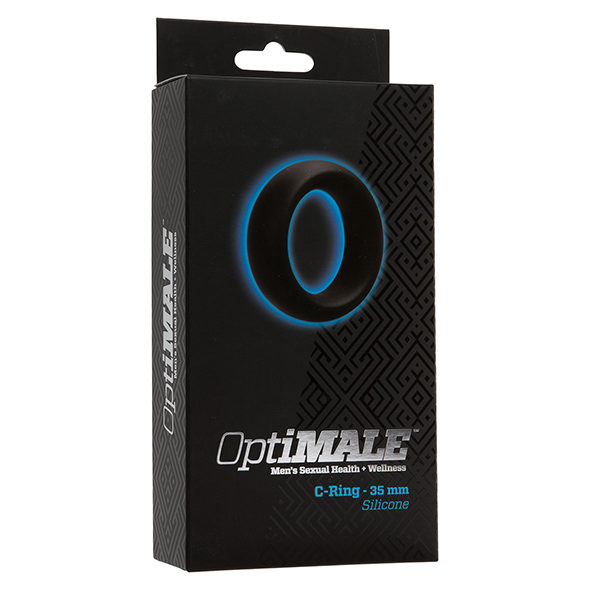 Cockring zwart siliconen 35mm - desireshop.nl - BDSM Shop - Alkmaar