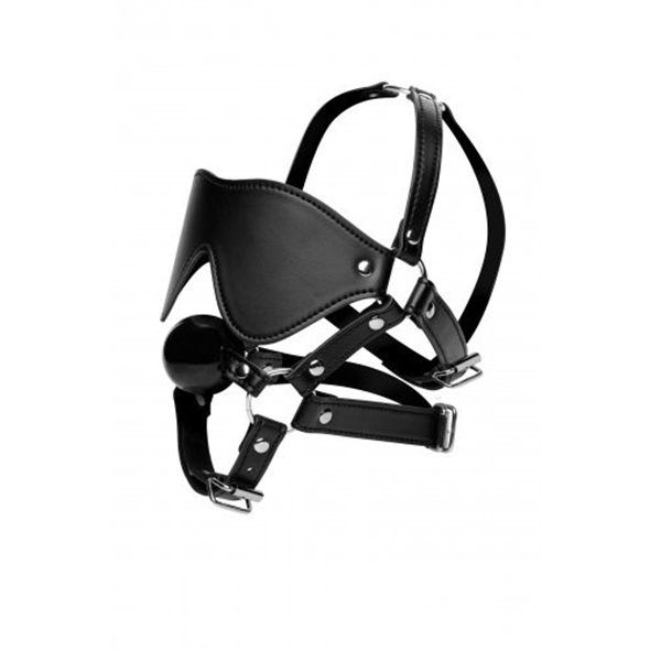 Masker Met Ball Gag - AE909 - Desireshop - BDSM Shop - Alkmaar
