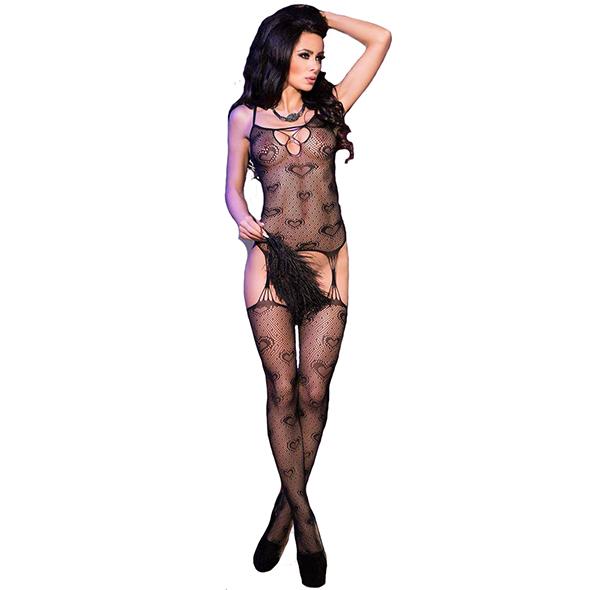 Bodystocking CR4105 - Kinky jurkjes - Bodystockings - Chilirose