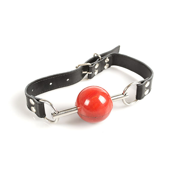 Bit Ball Gag Red - Desireshop - BDSM Shop - Alkmaar