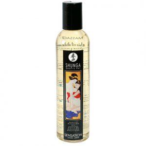 Shunga Massage Olie Sensatie Lavendel - Desireshop.nl - Alkmaar