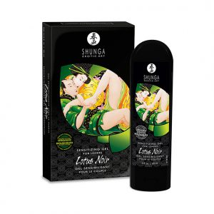 Shunga Lotus Noir Sensitizing Gel - Kopen - Desireshop.nl - Alkmaar