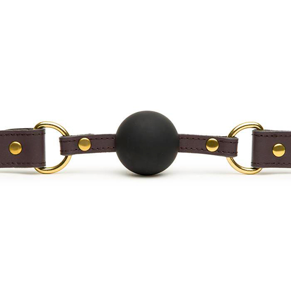 Coco de Mer Leather Ball Gag - Desireshop.nl - Alkmaar