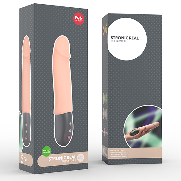 Fun Factory Stronic Real Pulsator II Creme Kopen | Desireshop | Alkmaar