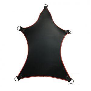 5 Punts sling zwart met rood | Desireshop.nl | Alkmaar | BDSM Toys