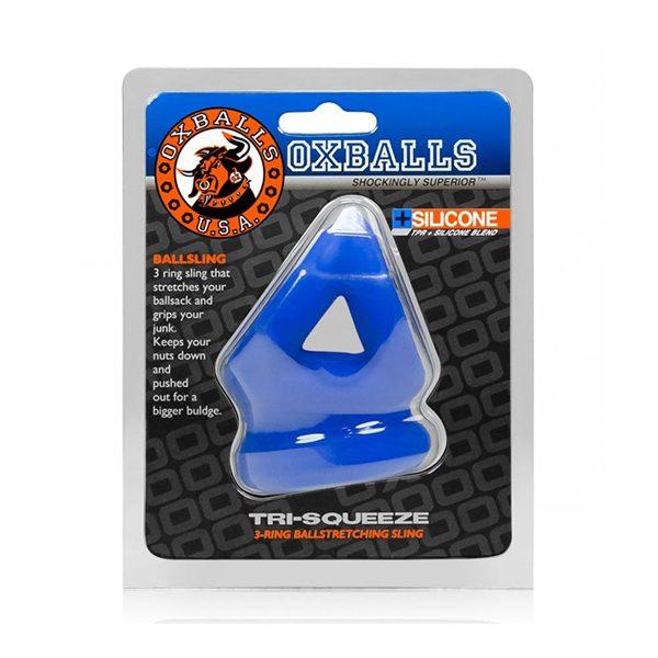 Oxballs Tri Squeeze Cobalt Blue kopen | Desireshop.nl | Alkmaar