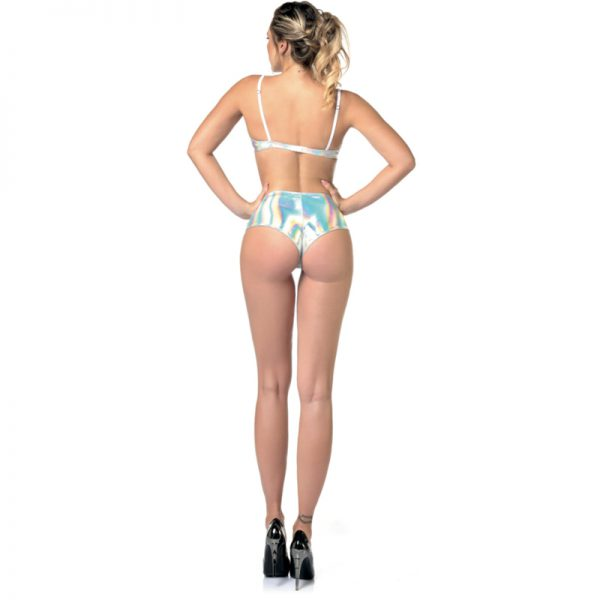 Beatrice Shorty Lak Hologram | Partice Catanzaro | Desireshop | Alkmaar