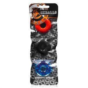 Oxballs Ringer 3 Pack Multi-Color kopen | Desireshop.nl | Alkmaar
