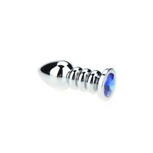 ribbelde Buttplug blue kopen | Desireshop.nl | Sexshop Alkmaar