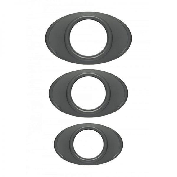 Easy Grip C Ring Set Grijs | Penisring of Cockring | Desireshop.nl
