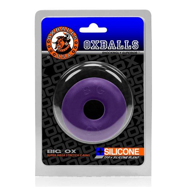Oxballs Big Ox Cockring - Eggplant Ice   Desireshop.nl   Snel en voordelig