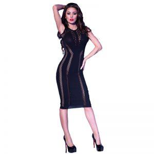 Mini jurk CR4300 van Chilirose | Desireshop.nl | Snel en voordelig