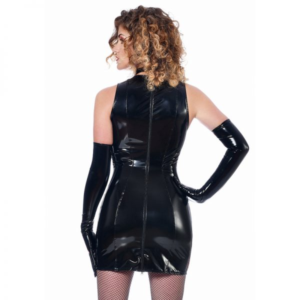 Clarissa jurk Vinyl | Patrice Catanzaro | Desireshop.nl | snel en discreet