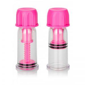 Nipple Play Vacuum Twist Suckers pink | Desireshop.nl | Alkmaar