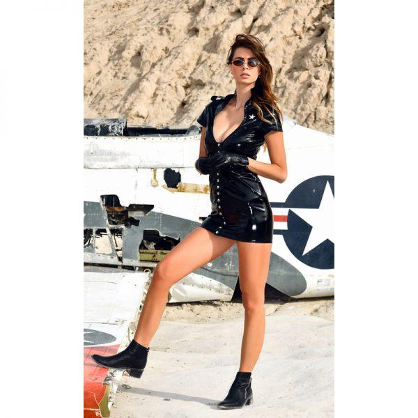 Aka vinyl jurk | Patrice Catanzaro | Desireshop.nl | Alkmaar