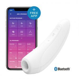 Satisfyer Curvy 1 Air Pulse + Vibration Wit | Desireshop.nl | Alkmaar